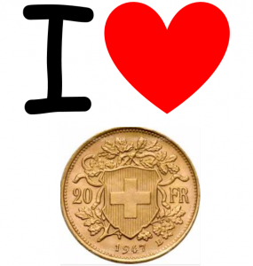 I heart the swiss franc